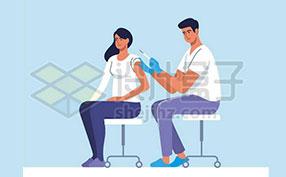 疫苗接种图片