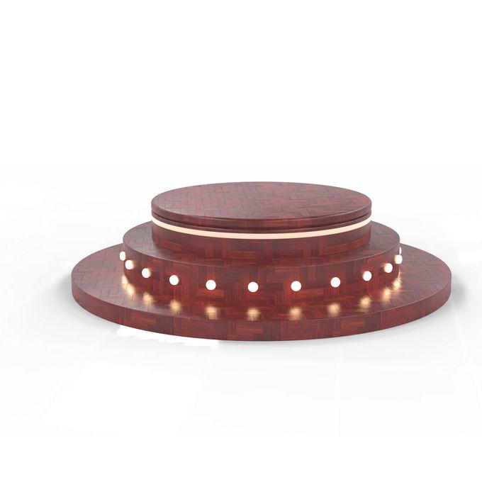深色木地板风格3D立体圆形舞台展台3338973矢量图片免抠素材 电商元素-第1张