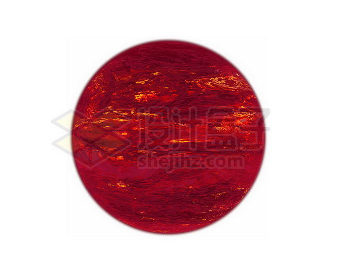 一颗暗红色的褐矮星宇宙天体png免抠高清图片素材 科学地理-第1张