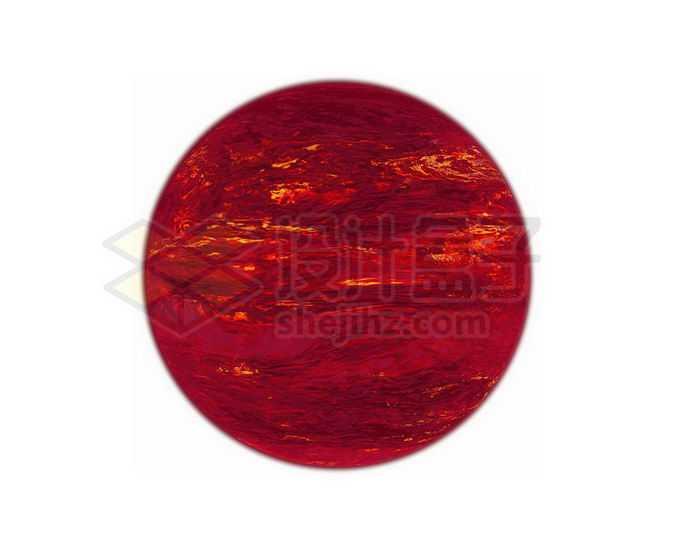 一颗暗红色的褐矮星宇宙天体png免抠高清图片素材