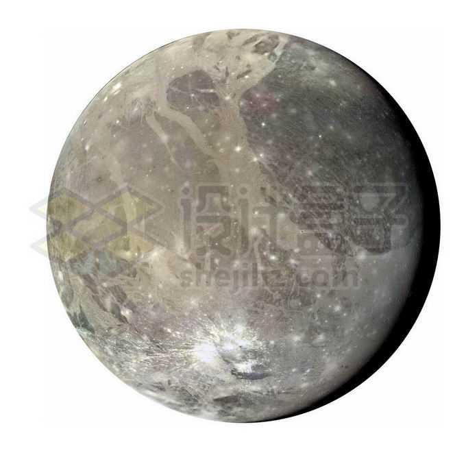 太阳系最大卫星木卫三png免抠高清图片素材