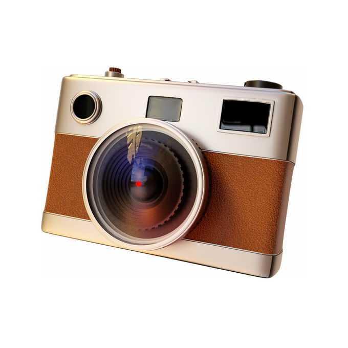 3D立体风格复古单反照相机拍照拍摄工具2826885矢量图片免抠素材