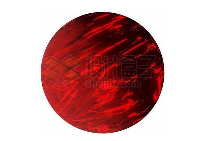 暗红色的褐矮星红色星球png免抠高清图片素材