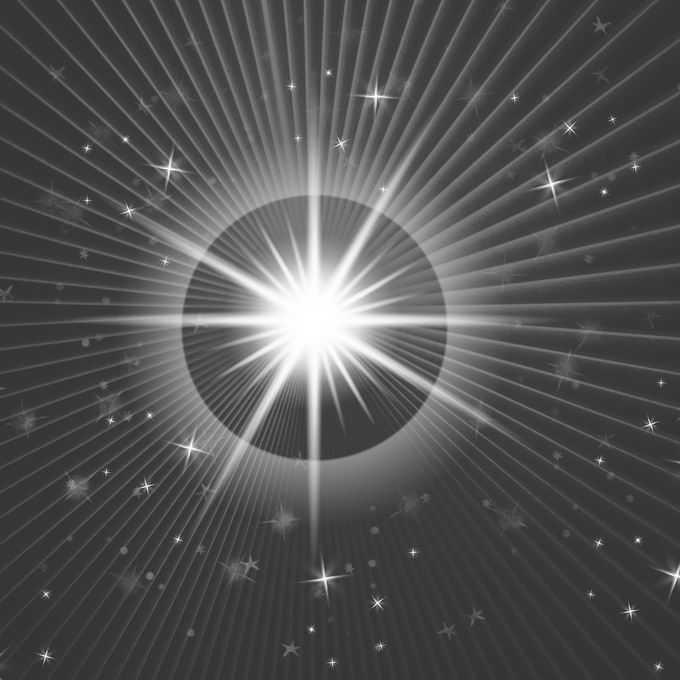 白色光照效果光芒星光辐射光线效果8059823图片免抠素材免费下载