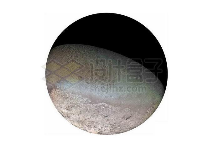 海王星卫星海卫一崔顿png免抠高清图片素材 科学地理-第1张