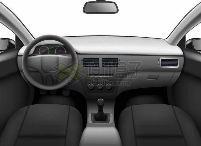 汽车内部第一人称视角车内视角车窗视野效果车外风景2799450矢量图片免抠素材