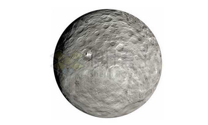 太阳系最大小行星谷神星png免抠高清图片素材
