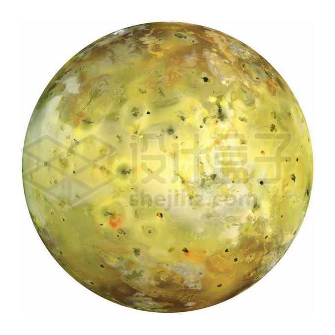 太阳系第四大卫星木星卫星木卫一伊奥png免抠高清图片素材