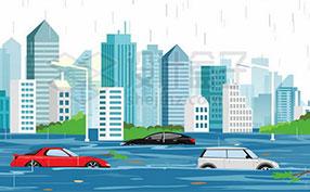 洪涝灾害图片