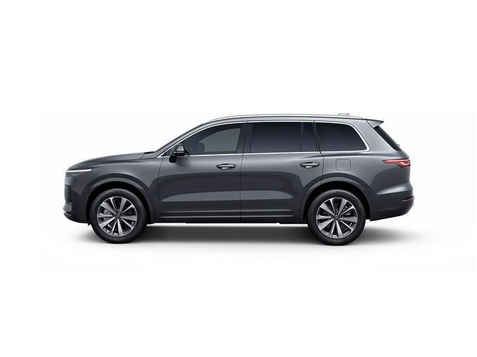 黑色理想ONE智能电动SUV汽车侧视图png免抠图片素材 交通运输-第1张