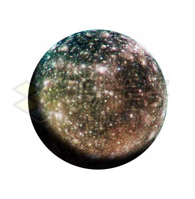 木星卫星木卫四png免抠高清图片素材