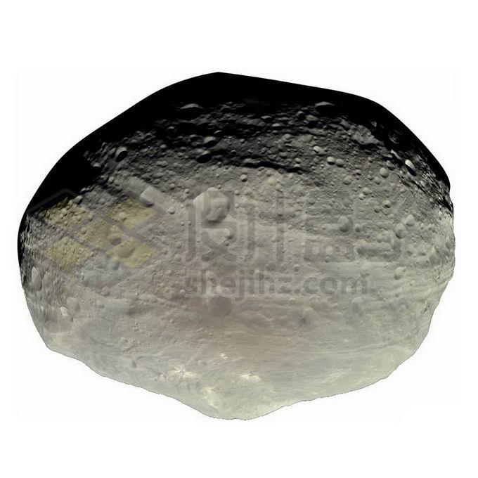 最大小行星之一的灶神星png免抠高清图片素材 科学地理-第1张