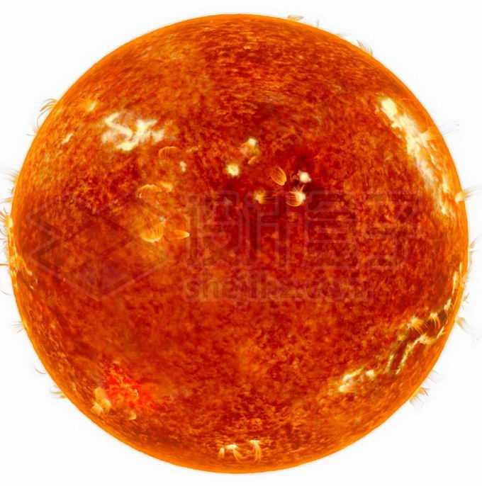表面耀斑日珥的太阳恒星红超巨星png免抠高清图片素材