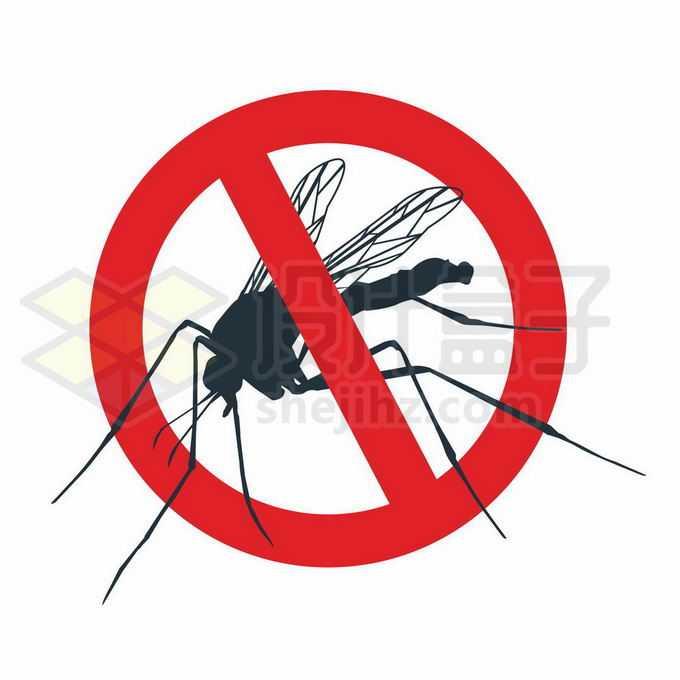 小心蚊子防止蚊子灭杀蚊子标志8879917矢量图片免抠素材免费下载