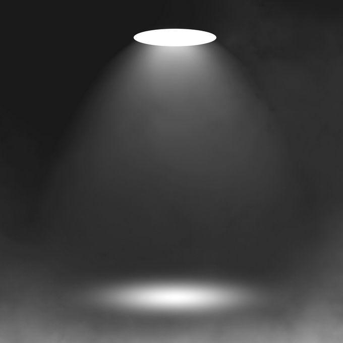 顶部的白色射灯光芒光线照射效果4426555图片免抠素材免费下载 效果元素-第1张