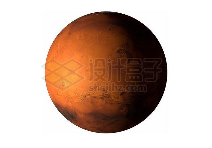 红色星球火星png免抠高清图片素材 科学地理-第1张