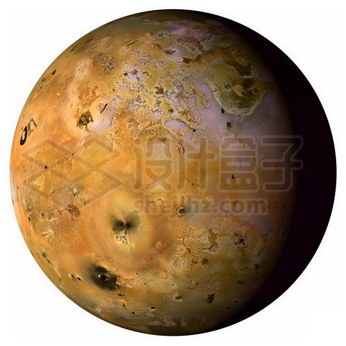 太阳系第四大卫星木卫一伊奥png免抠高清图片素材 科学地理-第1张