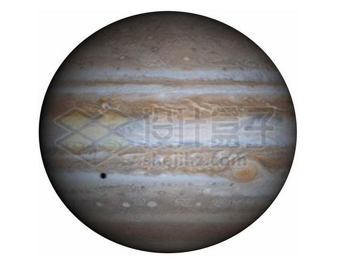 巨型气态行星木星png免抠高清图片素材 科学地理-第1张