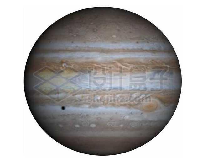 巨型气态行星木星png免抠高清图片素材