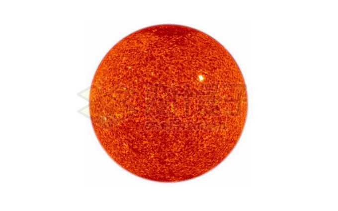 暗红色的恒星太阳红矮星png免抠高清图片素材
