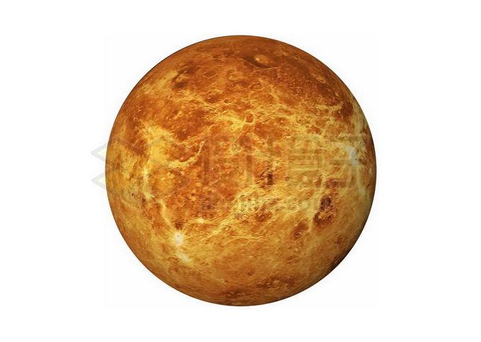 类地行星金星png免抠高清图片素材 科学地理-第1张