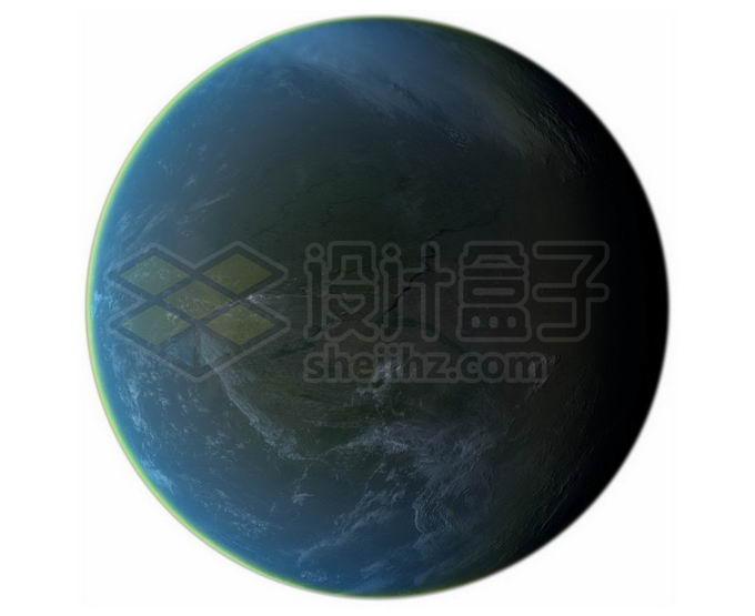 一颗宜居星球超级地球系外行星png免抠高清图片素材 科学地理-第1张