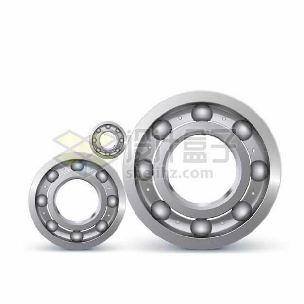 银灰色的金属轴承机械设备8238398矢量图片免抠素材
