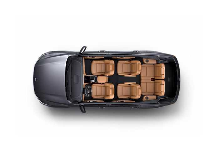 理想ONE智能电动SUV汽车座位布置分布图png免抠图片素材