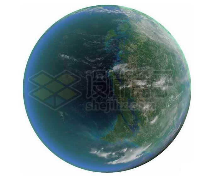 一颗拥有海洋的宜居星球超级地球系外行星png免抠高清图片素材