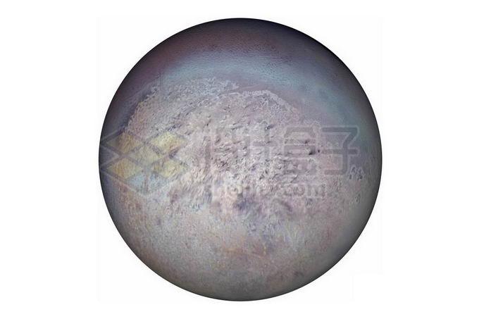 太阳系大卫星海王星卫星海卫一崔顿png免抠高清图片素材 科学地理-第1张