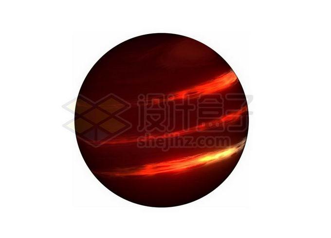暗红色的褐矮星红色星球次恒星png免抠高清图片素材 科学地理-第1张