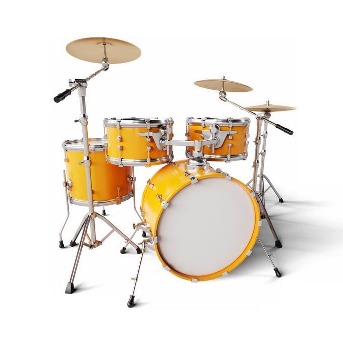 金黄色的架子鼓打击乐器西洋乐器6622391图片免抠素材免费下载 休闲娱乐-第1张