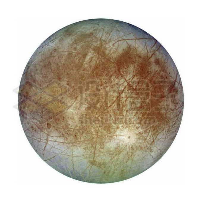木星第四大卫星木卫二欧罗巴png免抠高清图片素材