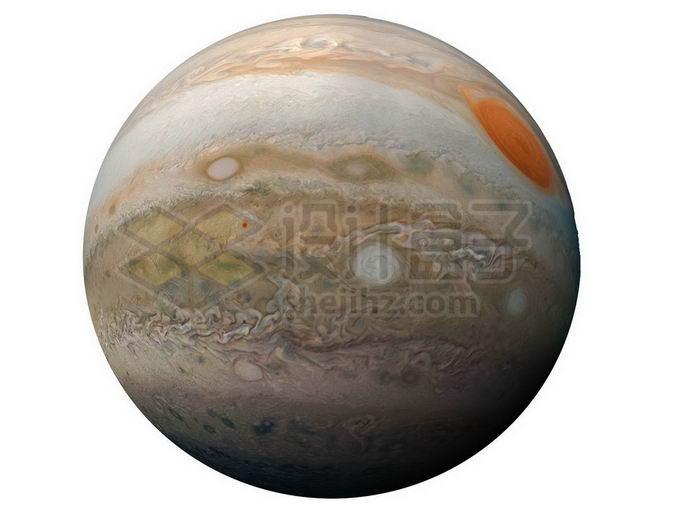 太阳系最大行星木星png免抠高清图片素材 科学地理-第1张