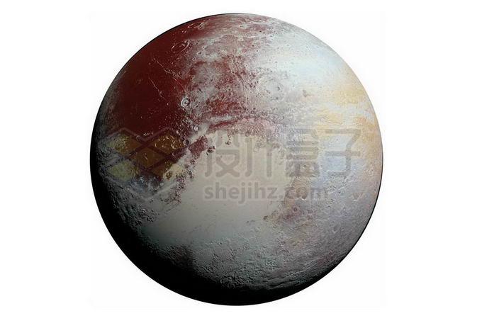 冥王星矮行星png免抠高清图片素材 科学地理-第1张