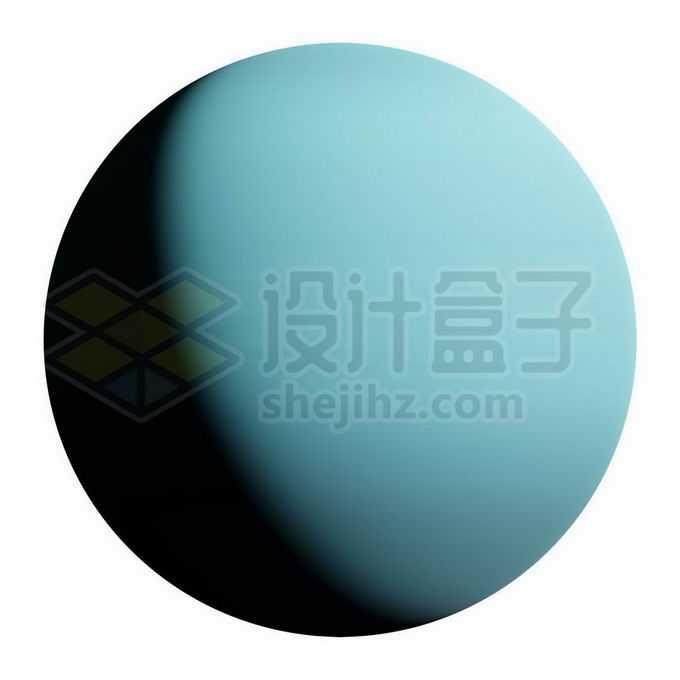 气态行星天王星png免抠高清图片素材