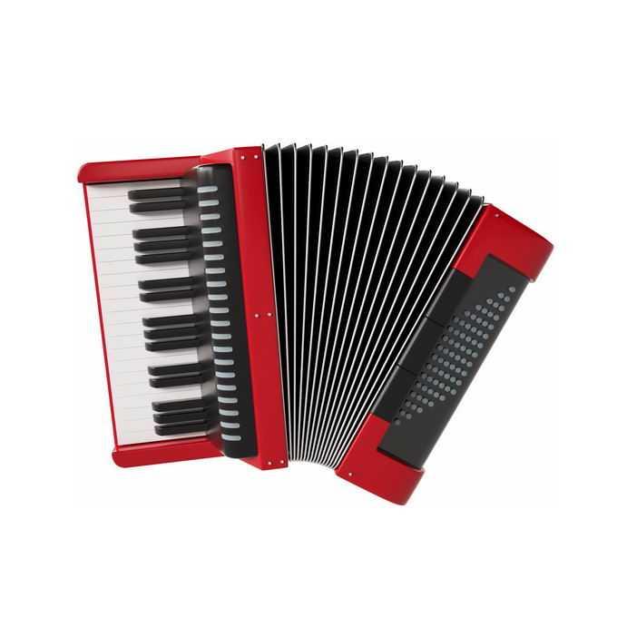 红黑色的手风琴活簧类乐器西洋乐器3531875图片免抠素材免费下载