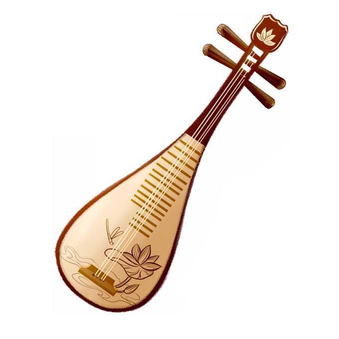 琵琶中国传统乐器弹拨乐器8513085图片免抠素材免费下载