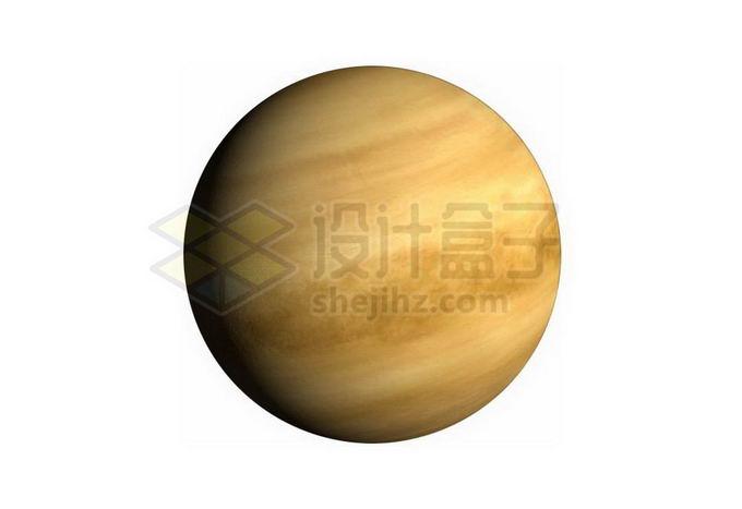 拥有浓厚大气层的金星png免抠高清图片素材 科学地理-第1张