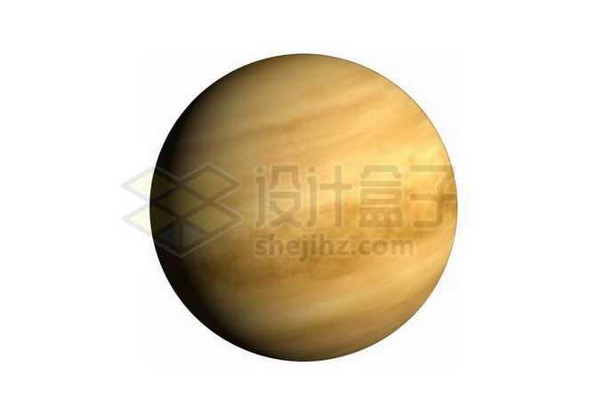 拥有浓厚大气层的金星png免抠高清图片素材