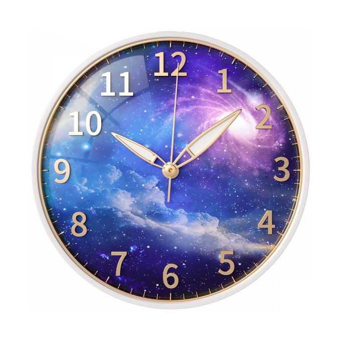 钟表背景是宇宙发挥想象力抽象插画6720702图片免抠素材免费下载