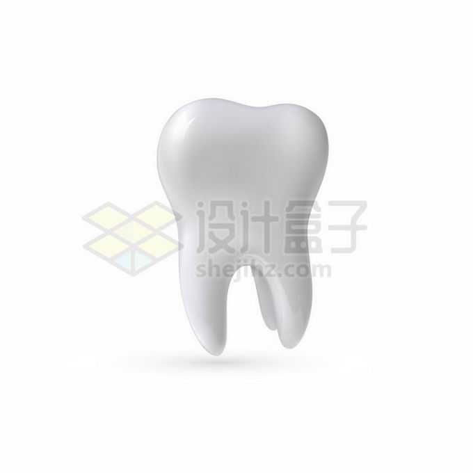 一颗洁白无瑕的牙齿2564917矢量图片免抠素材