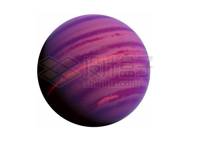 紫色的褐矮星热木星png免抠高清图片素材 科学地理-第1张