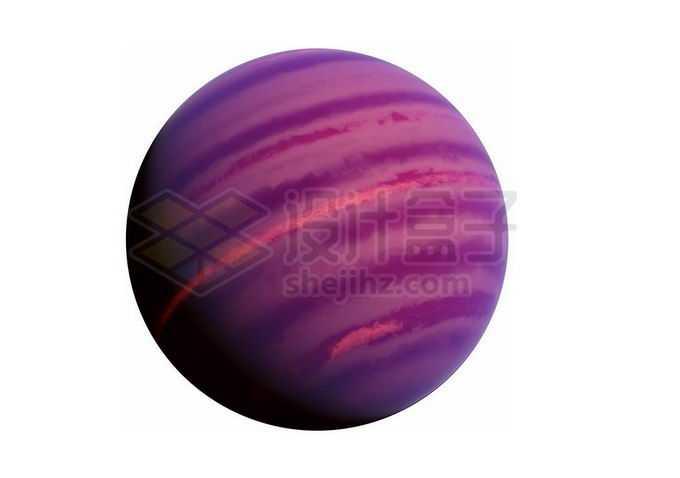 紫色的褐矮星热木星png免抠高清图片素材