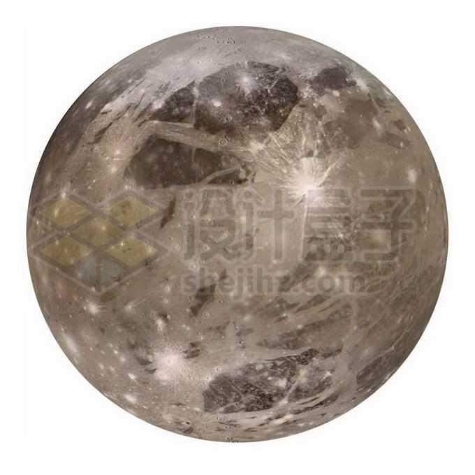 木星最大卫星木卫三png免抠高清图片素材