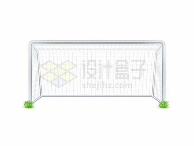 足球场上的球门球网1541285矢量图片免抠素材免费下载