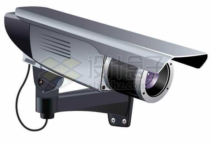 一台专业的监控摄像头3988309矢量图片免抠素材免费下载