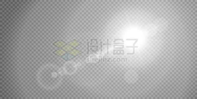 白色阳光光晕效果3548551矢量图片免抠素材免费下载