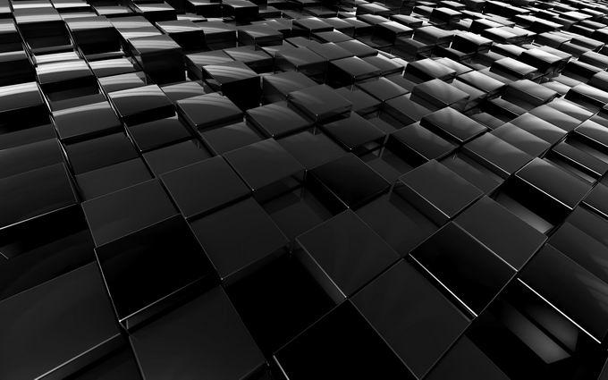 40张玻璃光泽的高清3D立方体背景图片素材免费下载2