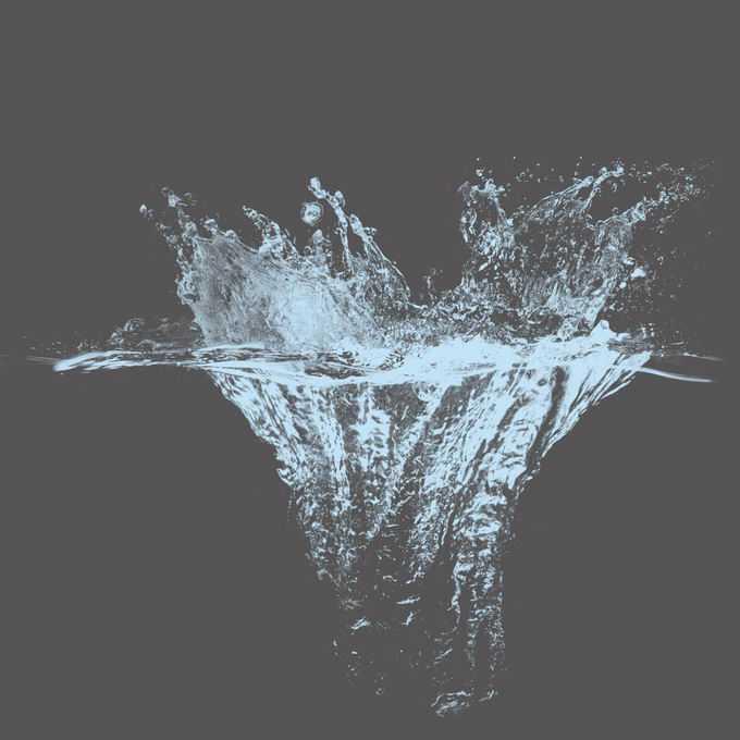 激起的水花淡蓝色水面效果5032936矢量图片免抠素材免费下载